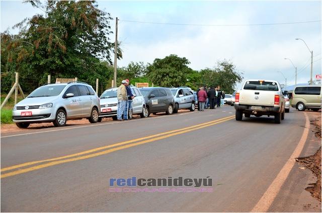 Conflito entre taxistas Brasil e Paraguai 2