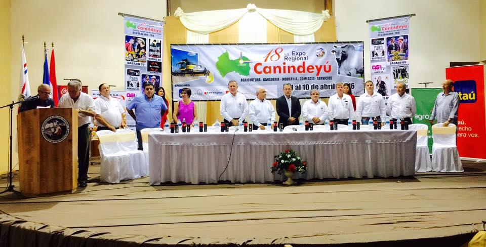 Expo Regional Canindeyú en su 18va Edición
