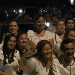 Marcha pro-enmienda en Curuguaty